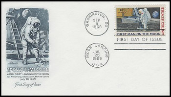 C76 / 10c Moon Landing Artmaster 1969 First Day Cover
