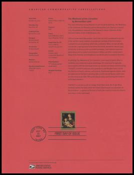 4206 / 41c Madonna and Child 2007 USPS Souvenir Page #0744