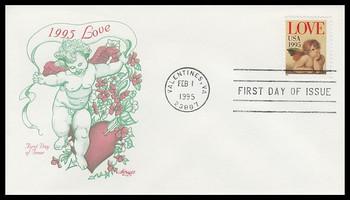 2948 / 32c Love Cherub Artmaster 1995 First Day Cover