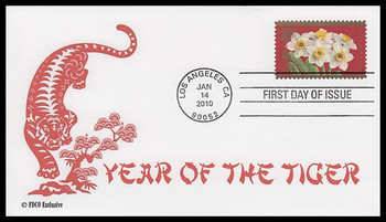 4435 / 44c Year of the Tiger : Chinese Lunar New Year 2010 FDCO Exclusive FDC