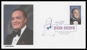 4406 / 44c Bob Hope Digital Color Postmark 2008 FDCO Exclusive FDC