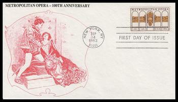 2054 / 20c Metropolitan Opera 1983 K.M.C. Venture FDC