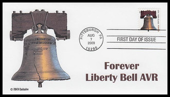 4125f / 44c Liberty Bell AVR 2009 FDCO Exclusive FDC