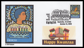 5531 / 55c Kwanzaa 2020 FDCO Exclusive First Day Cover