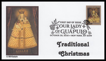 5525 / 55c Our Lady of Guapulo 2020 FDCO Exclusive First Day Cover