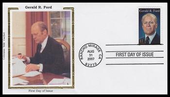 4199 / 41c President Gerald Ford 2007 Colorano Silk FDC