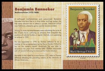 "Benjamin Banneker : Black Heritage 4"" x 6"" Collectible Postcard"