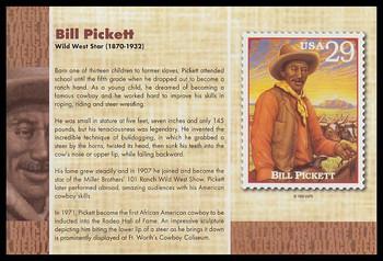 "Bill Pickett : Black Heritage 4"" x 6"" Collectible Postcard"