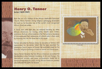 """Henry O. Tanner : Black Heritage 4"""" x 6"""" Collectible Postcard"""