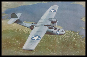 """Catalina PBY Modern Colorized WWII 4"""" x 6"""" Collectible Postcard"""