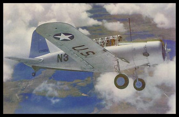 """Valiant Modern Colorized WWII 4"""" x 6"""" Collectible Postcard"""