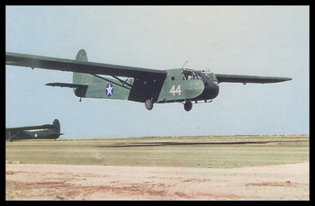 """Waco CG-4A Modern Colorized WWII 4"""" x 6"""" Collectible Postcard"""