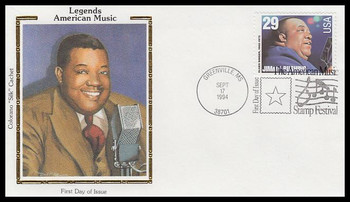 2858 / 29c Jimmy Rushing : Jazz Singer 1994 Colorano Silk First Day Cover