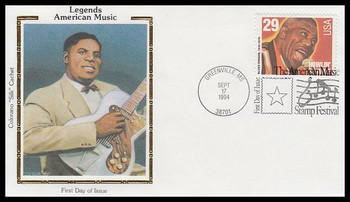 2861 / 29c Howlin' Wolf : Blues Singer 1994 Colorano Silk First Day Cover
