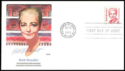 2938 / 46c Ruth Benedict - Anthropologist 1995 Fleetwood FDC