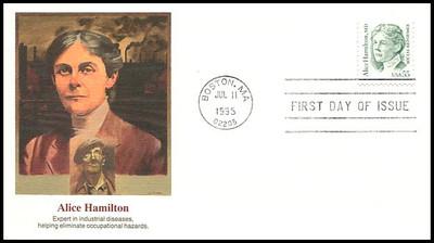 2940 / 55c Alice Hamilton, MD - Social Reformer 1995 Fleetwood FDC