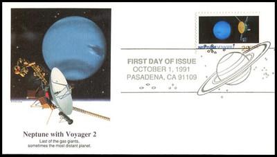 2568 - 2577 / 29c Space Exploration / Planets Set of 10 Fleetwood 1991 FDCs