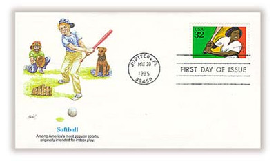 2961 - 2965 / 32c Recreational Sports Set of 5 Fleetwood 1995 First Day Covers