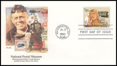 2779 - 2782 / 29c National Postal Museum Set of 4 Fleetwood 1993 FDCs
