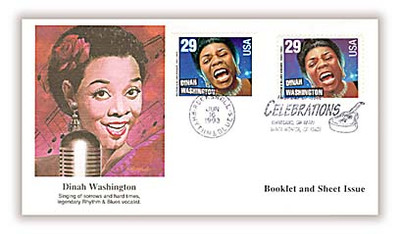 2724 - 2730 & 2731 - 2737 / 29c Rock & Roll / Rhythm & Blues Musicians Bklt and Sht Issue Combo Set of 7 Fleetwood 1993 FDCs