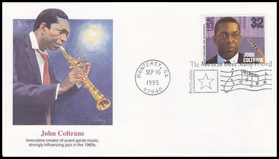 2983 - 2992 / 32c Jazz Musicians : American Music Series Set of 10 Fleetwood 1995 First Day Covers