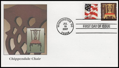 3761 / 4c Chippendale Chair Coil 2007 Fleetwood FDC