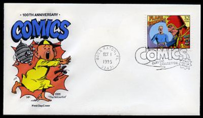 3000a - t 32c Classic Comic Strips Set of 20 House of Farnam 1995 FDCs