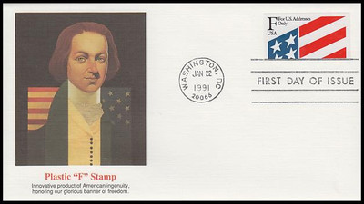2522 / F Rate ( 29c ) Flag PSA 1991 Fleetwood First Day Cover