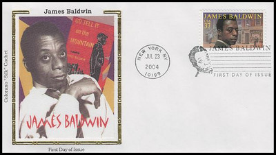3871 / 37c James Baldwin : Literary Arts 2004 Colorano Silk First Day Cover