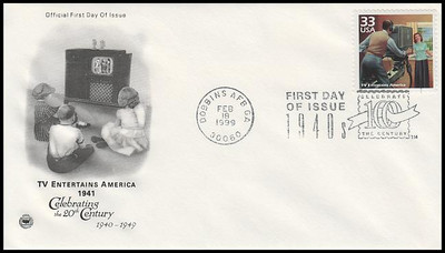 3186a-o 33c Celebrate The Century (CTC) 1940s Set of 15 PCS 1999 First Day Covers