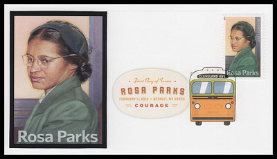 4742 / 46c Rosa Parks : Civil Rights 2013 Digital Color Postmark FDCO Exclusive FDC