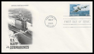 3372 / 33c U.S. Navy Submarine Centennial 2000 Artcraft FDC