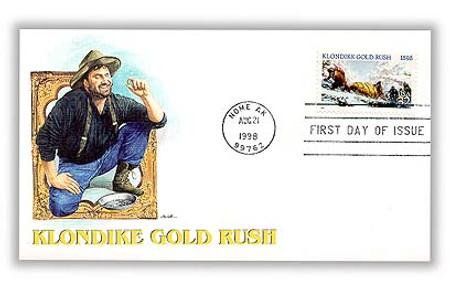 3235 / 32c Klondike Gold Rush 1998 Fleetwood FDC