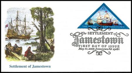 4136 / 41c Jamestown Settlement 400th Anniversary 2007 Fleetwood FDC