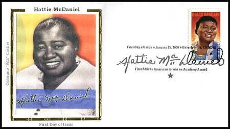 3996 / 39c Hattie McDaniel : Black Heritage Series 2006 Colorano Silk FDC
