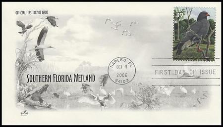 4099a-j / 39c South Florida Wetlands - The Everglades : Nature of America Series Set of 10 Artcraft 2006 FDCs