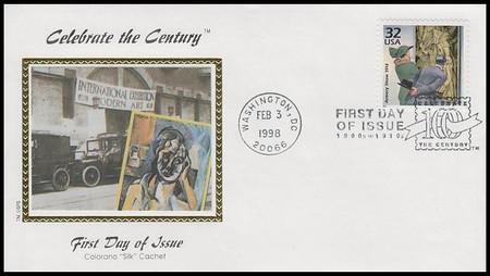 3183a-o / 32c Celebrate The Century ( CTC ) 1910s Set of 15 Colorano Silk 1998 FDCs