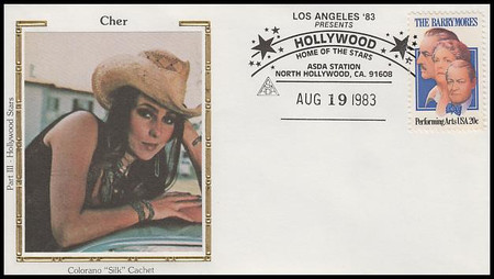 Cher : ASDA Hollywood Home Of The Stars Colorano Silk 1983 Event Cover