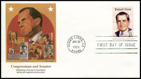 2955 / 32c Richard M. Nixon : President Set Of 5 Different Cachets Fleetwood 1995 FDCs