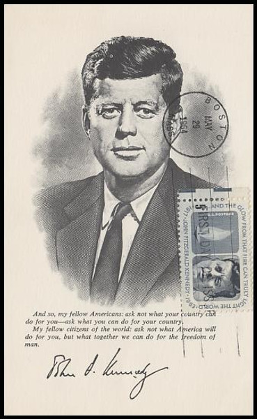 1246 / 5c Kennedy Memorial 1964 Unknown Maxicard