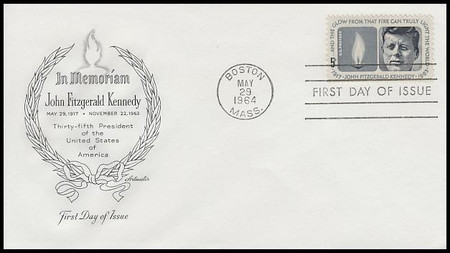 1246 / 5c Kennedy Memorial 1964 Artmaster First Day Cover