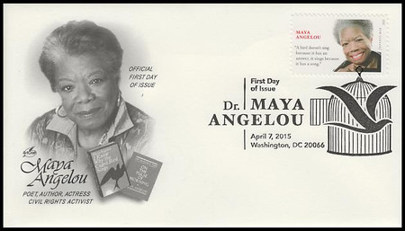 4979 / 49c Maya Angelou 2015 Artcraft First Day Cover