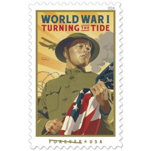 World War I: Turning the Tide Stamp