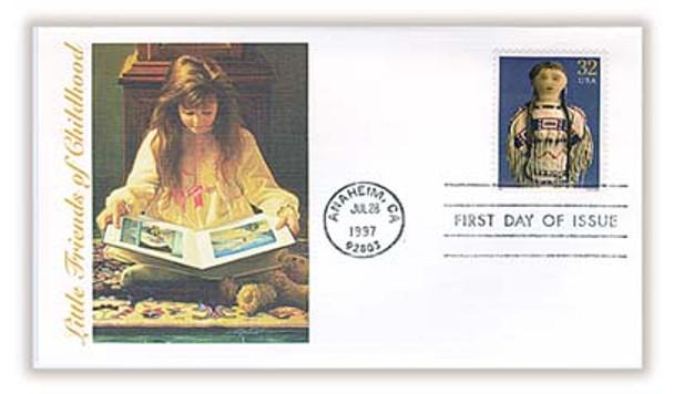 3151a-o / 32c Classic American Dolls Set of 15 Fleetwood 1997 FDCs