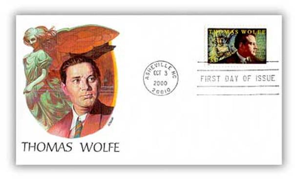 3444 / 33c Thomas Wolfe: Literary Arts Series 2000 Fleetwood FDC