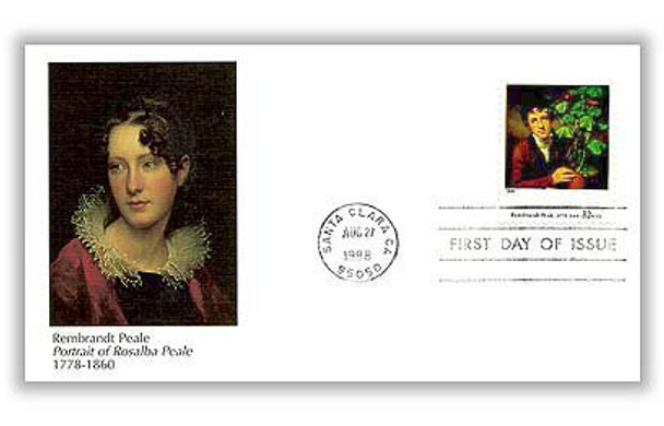 3236a-t / 33c Four Centuries of American Art Set of 20 Fleetwood 1998 FDCs