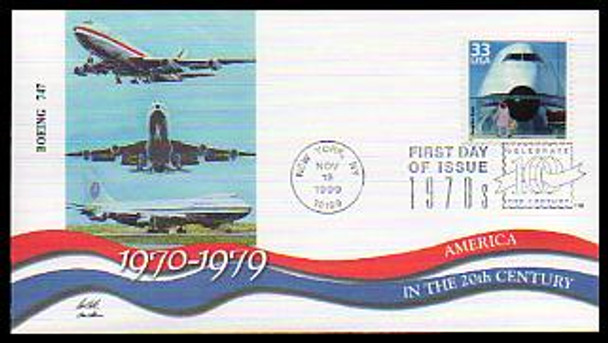 3189a-o 33c Celebrate The Century ( CTC ) 1970s Set of 15 Fleetwood 1999 FDCs