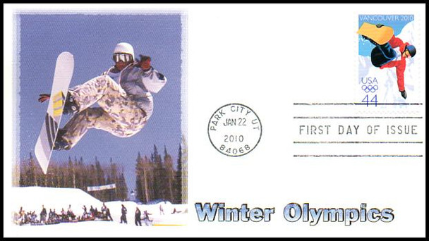 4436 / 44c Vancouver Olympic Winter Games Fleetwood 2010 First Day Cover