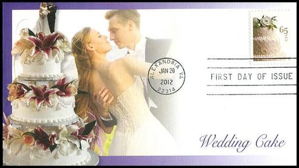4602 / 65c Wedding Cake 2012 Fleetwood FDC