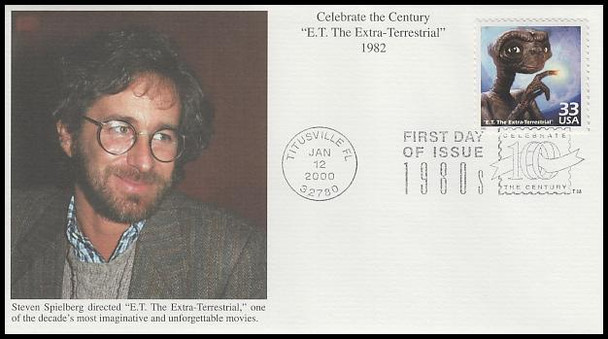 3190a-o / 33c Celebrate The Century ( CTC ) 1980s Set of 15 Mystic First Day Covers